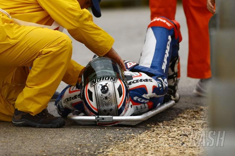 Melandri, Portuguese WSBK Race 1 2012
