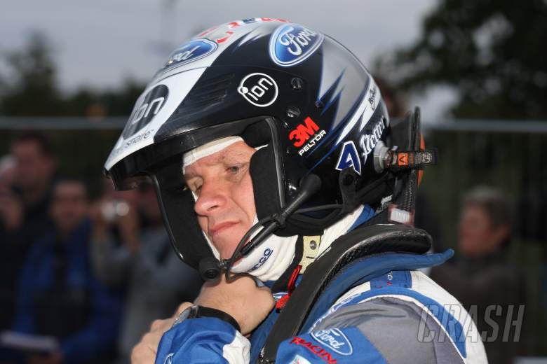 Petter Solberg (NOR) Chris Patterson (GBR), Ford Fiesta WRC, Ford World Rally Team