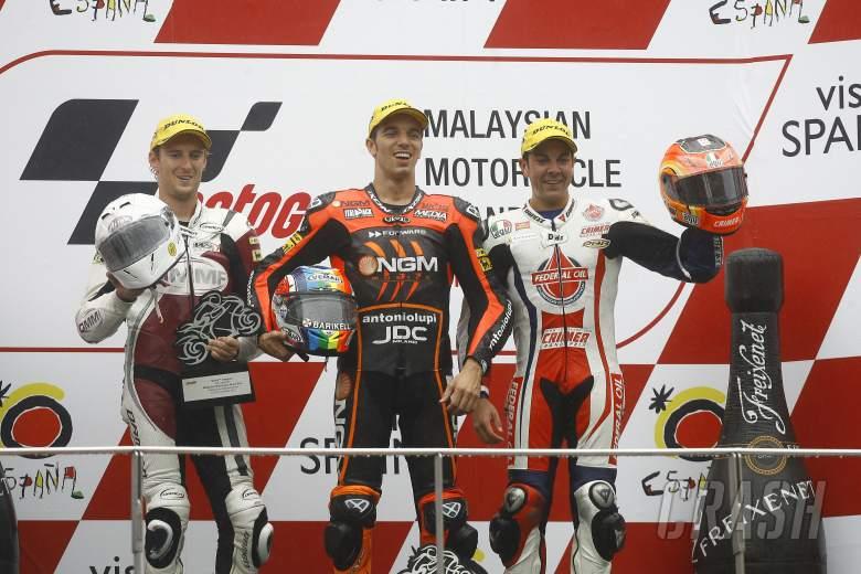 West, De Angelis, Gino Rea, Moto2 race, Japanese MotoGP 2012