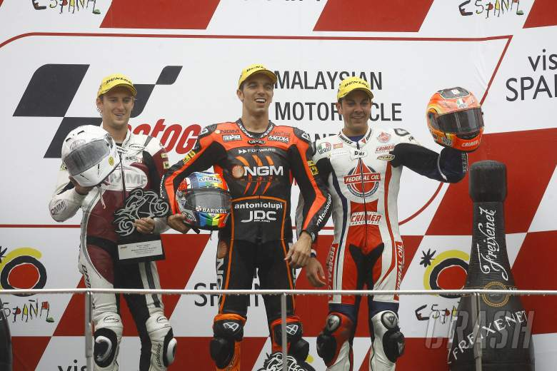 , - West, De Angelis, Gino Rea, Moto2 race, Japanese MotoGP 2012
