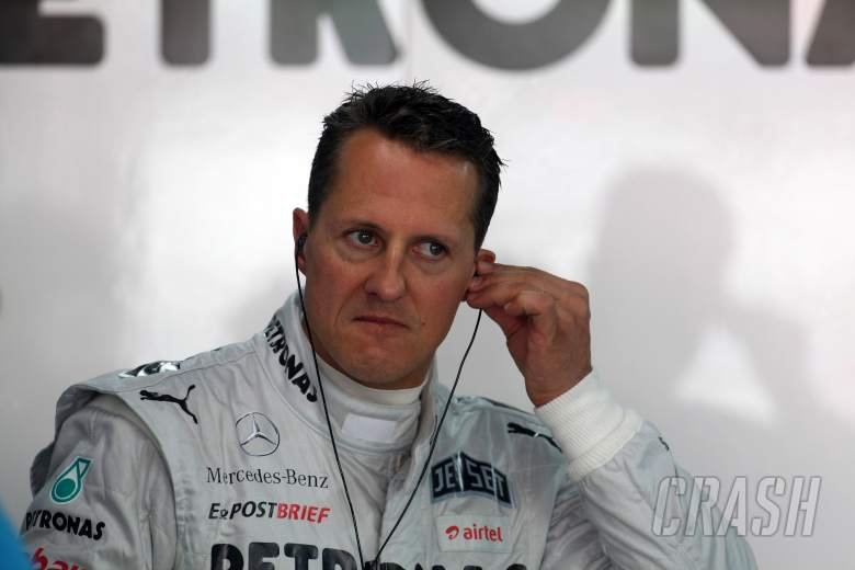 26.10.2012- Free Practice 1, Michael Schumacher (GER) Mercedes AMG F1 W03