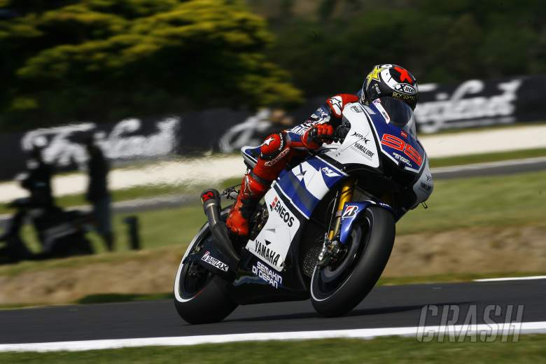 , - Lorenzo, Australian MotoGP 2012
