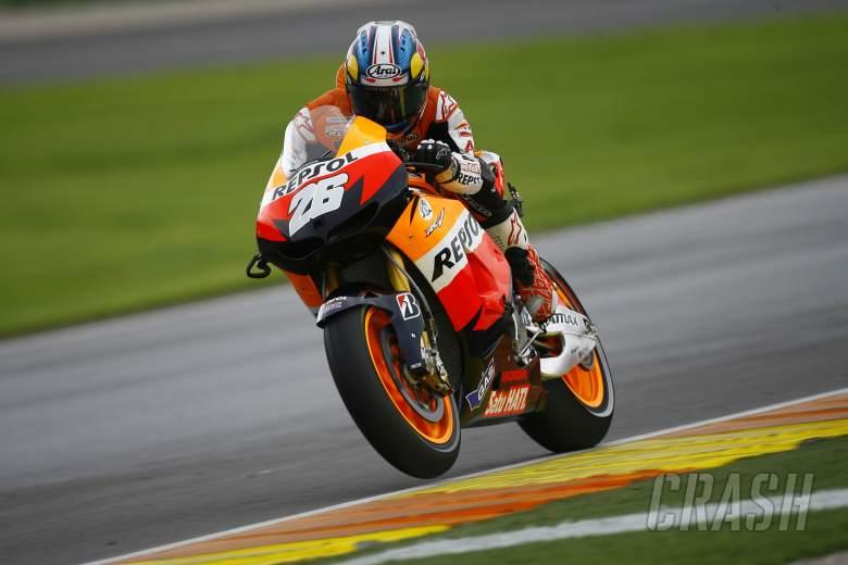 , - Pedrosa, Valencia MotoGP 2012