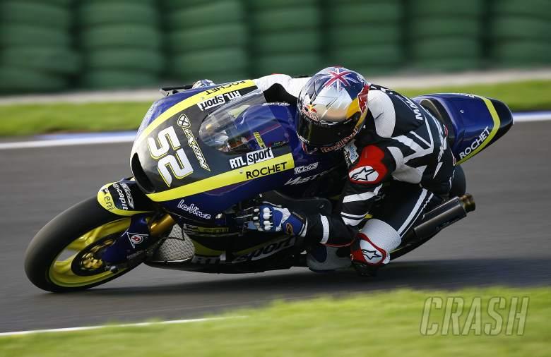 Kent, Moto2 test,12th November 2012 Valencia