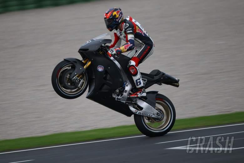 Bradl, Valencia MotoGP test, November 2012