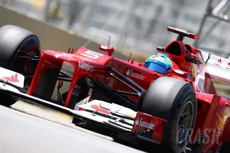 23.11.2012- Free Practice 2, Fernando Alonso (ESP) Scuderia Ferrari F2012