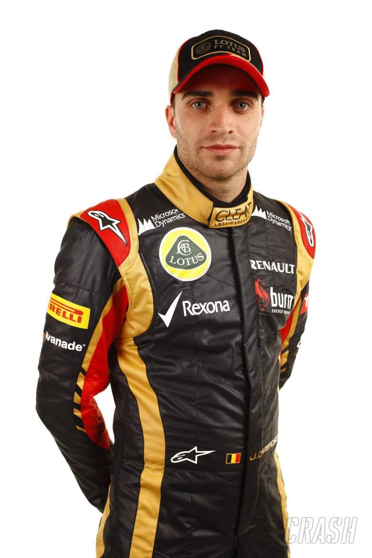 Jerome d'Ambrosio (BEL) Lotus F1