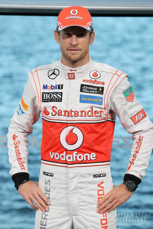 Jenson Button (GBR) McLaren.31.01.2013. McLaren MP4-28 Launch, McLaren Technology Centre, Woking, E