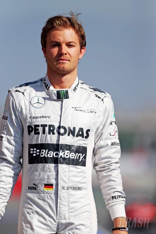 Nico Rosberg (GER) Mercedes AMG F1.