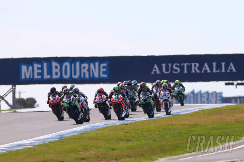 , - Sykes leads start, Australian WSBK 2013, race 2