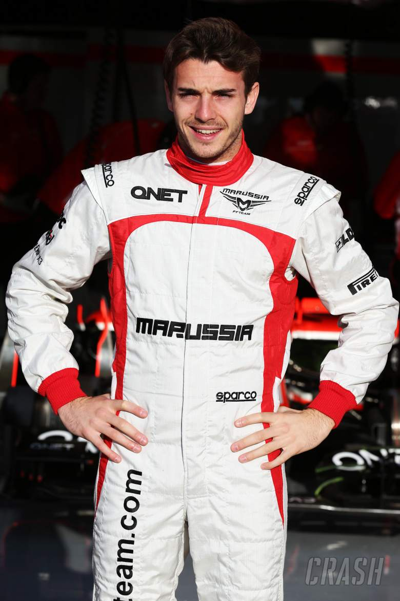 , - Jules Bianchi (FRA) Marussia F1 Team.02.03.2013.