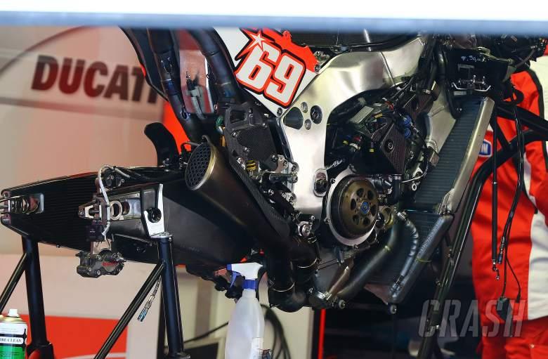 Hayden's Ducati, Jerez MotoGP tests, March 2013