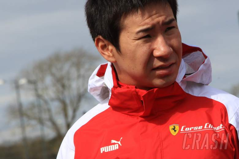 Kamui Kobayashi AF Corse Ferrari 458 Italia