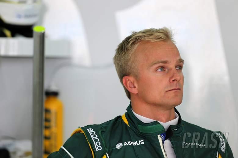 19.04.2013- Free Practice 1, Heikki Kovalainen (FIN) Caterham F1 Team CT03, Test Driver
