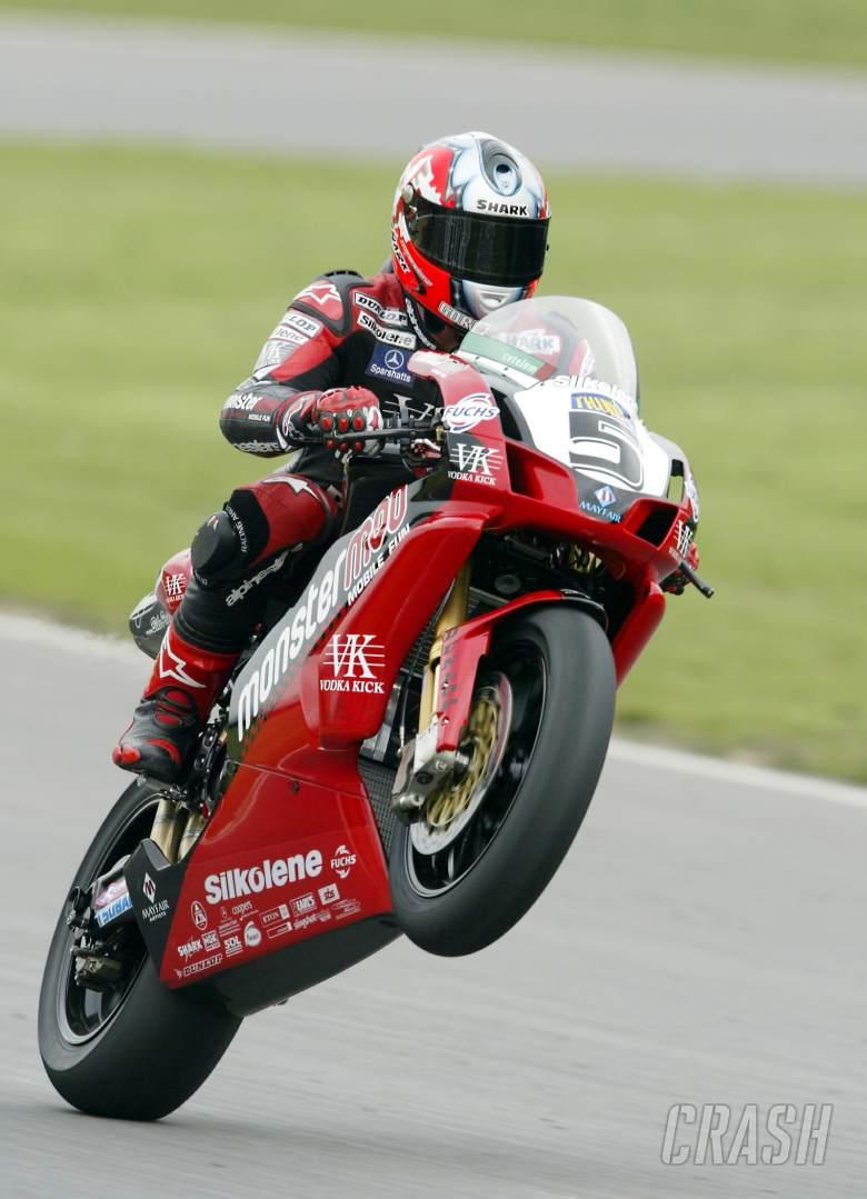 , - Sean Emmett - Monstermob Ducati FO4