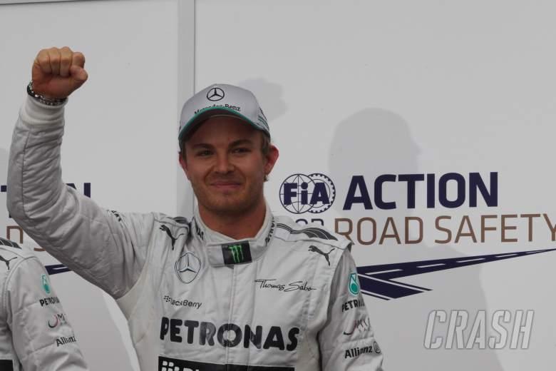 , - 25.05.2013- Qualifying, Nico Rosberg (GER) Mercedes AMG F1 W04 pole position