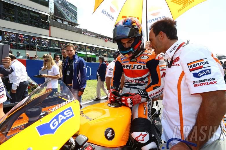 Pedrosa and puig, Italian MotoGP race, 2013