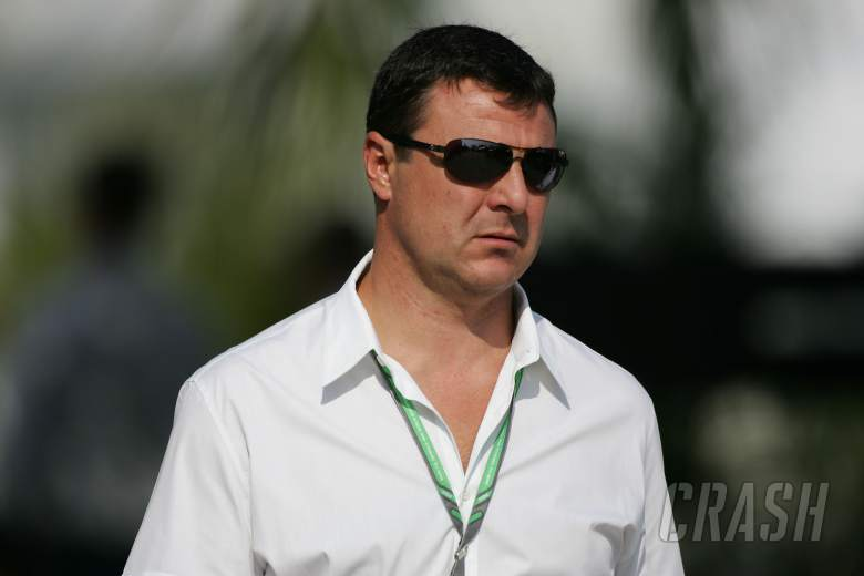 ITV F1 pundit and 2MB driver manager Mark Blundell in Malaysia