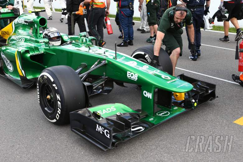 09.06.2013- Race, Giedo Van der Garde (NED), Caterham F1 Team CT03