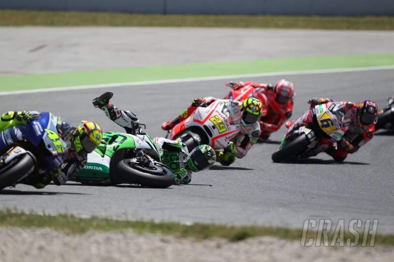 Bautista crash, Catalunya MotoGP 2013