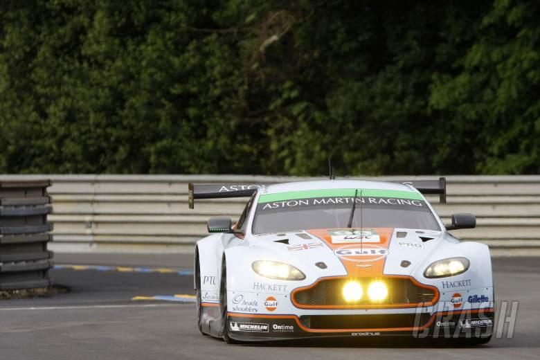 Rob Bell / Frederic Makowiecki / Bruno Senna Aston Martin Racing Aston Martin Vantage V8