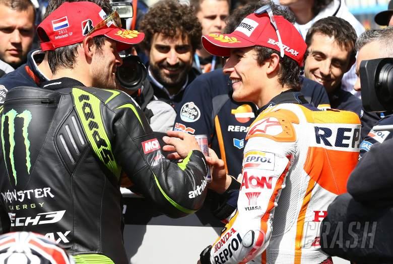 Crutchlow and Marquez, Dutch MotoGP 2013