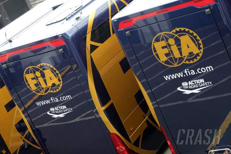 05.07.2013- Free Practice 2, FIA motorhome