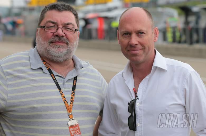 , - Julian Ryder and Toby Moody, German MotoGP 2013