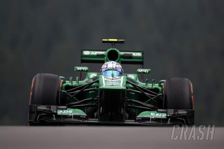 , - 23.08.2013- Free Practice 1, Giedo Van der Garde (NED), Caterham F1 Team CT03