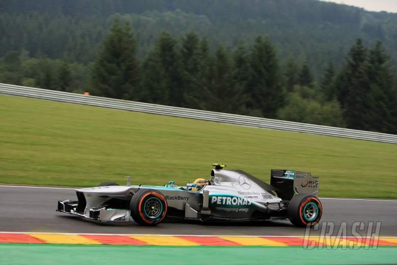 23.08.2013- Free Practice 1, Lewis Hamilton (GBR) Mercedes AMG F1 W04