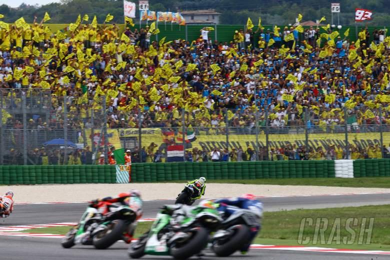 Rossi fans, San Marino MotoGP 2013