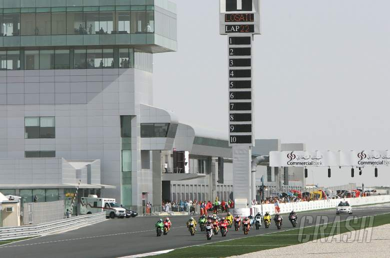 Start, Qatar MotoGP, 2006
