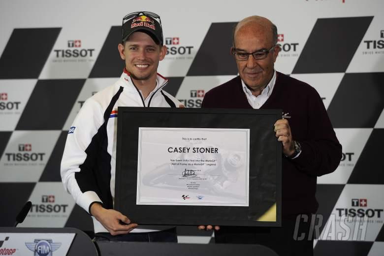 Stoner, Ezpeleta Legends award, Australian MotoGP 2013