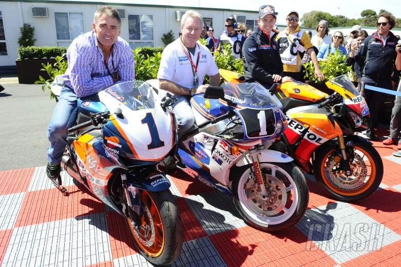 Doohan, Gardener, Stoner, Australian MotoGP 2013
