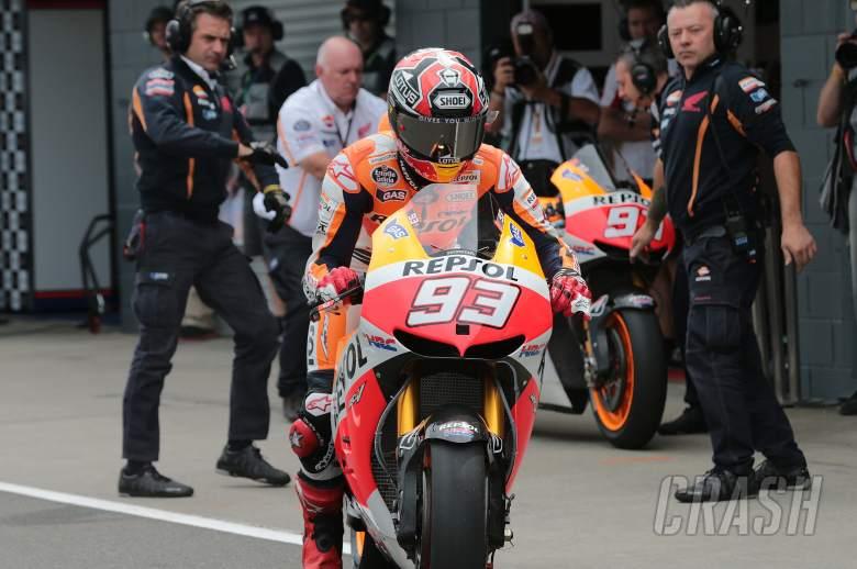 Marquez bike swap, Australian MotoGP 2013