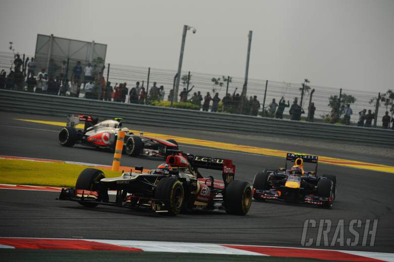 27.10.2013- Race: Kimi Raikkonen (FIN) Lotus F1 Team E21