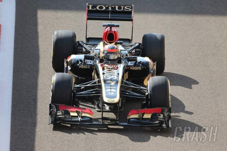 02.11.2013- Free Practice 3: Kimi Raikkonen (FIN) Lotus F1 Team E21