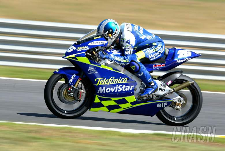 Pedrosa, South African 250GP 2004