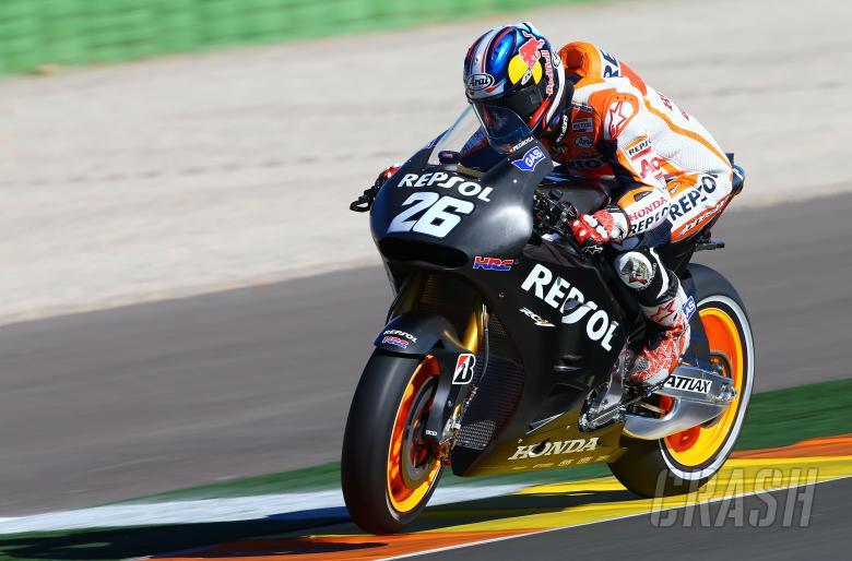 Pedrosa, Valencia MotoGP test, November 2013