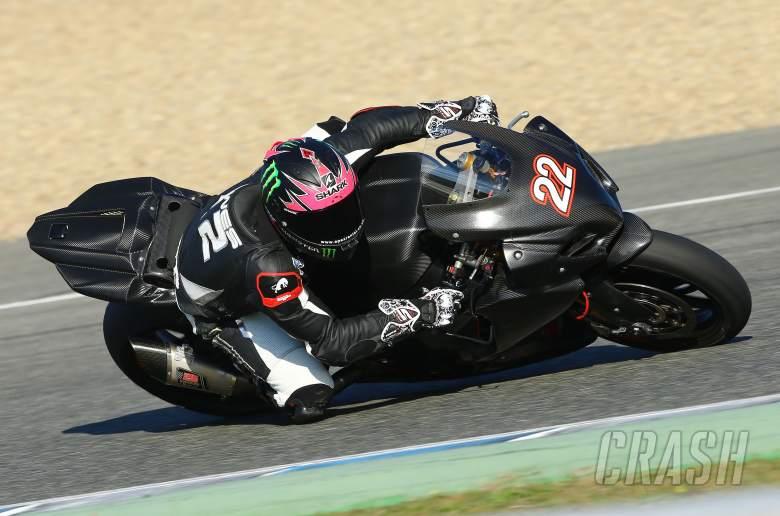 , - Alex Lowes, Jerez WSBK test, November 2013