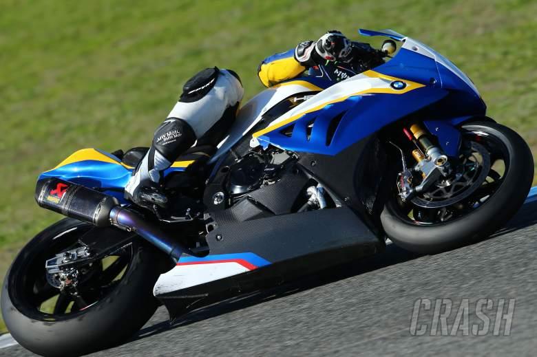 Barrier, Jerez WSBK test, November 2013