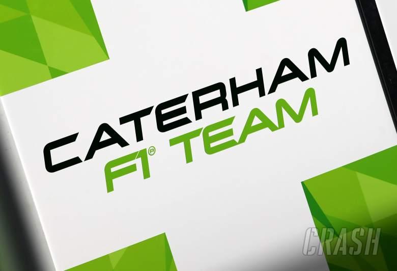 Caterham F1 Team new logo.27.01.2014. Formula One Testing, Preparations, Jerez, Spain.