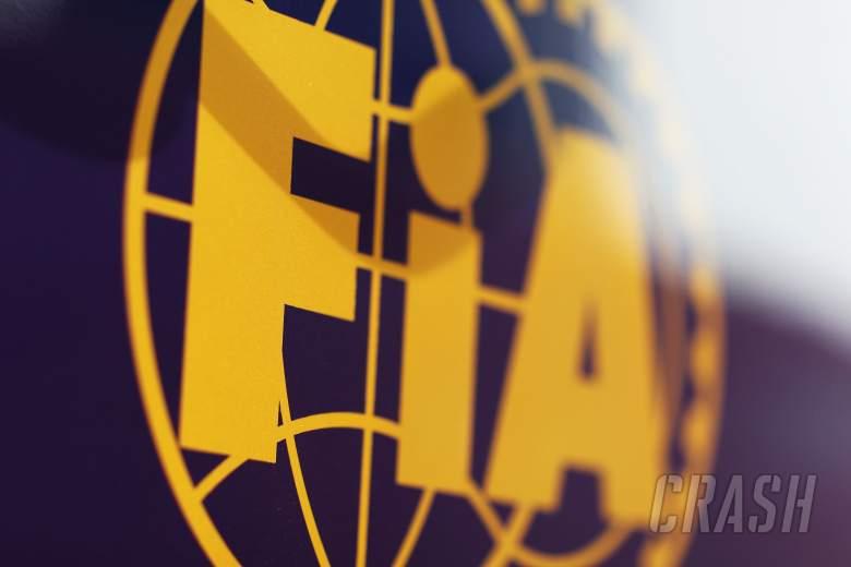 FIA logo.29.01.2014. Formula One Testing, Day Two, Jerez, Spain.