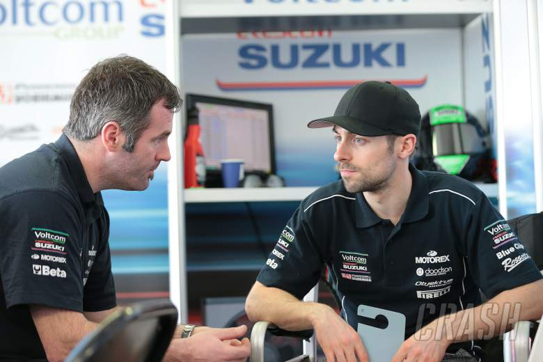 Laverty, Australian WSBK test and race, 2014