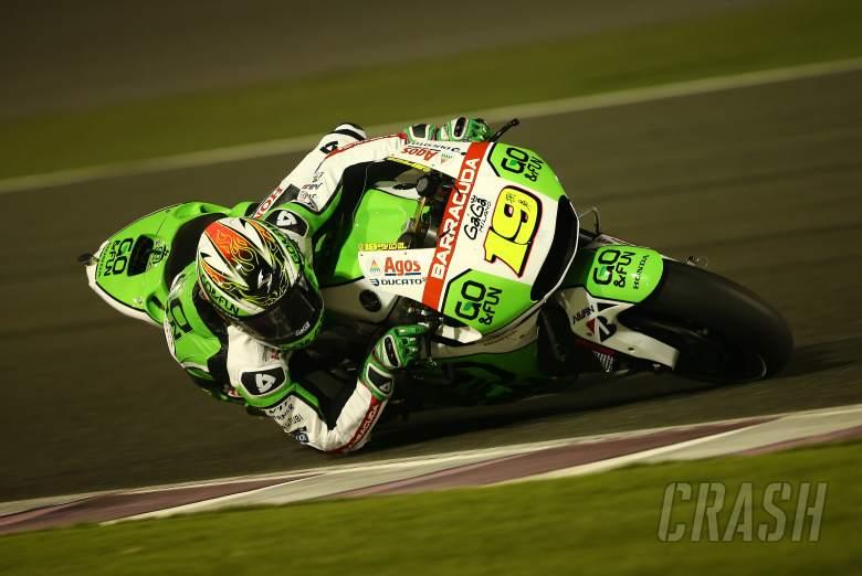 Bautista, Qatar MotoGP test, March 2014