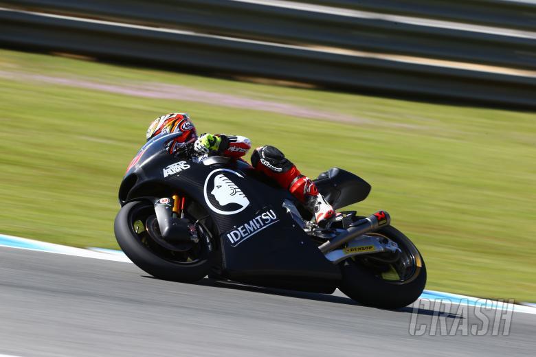Nakagami, Moto2, Jerez test Feb 2014
