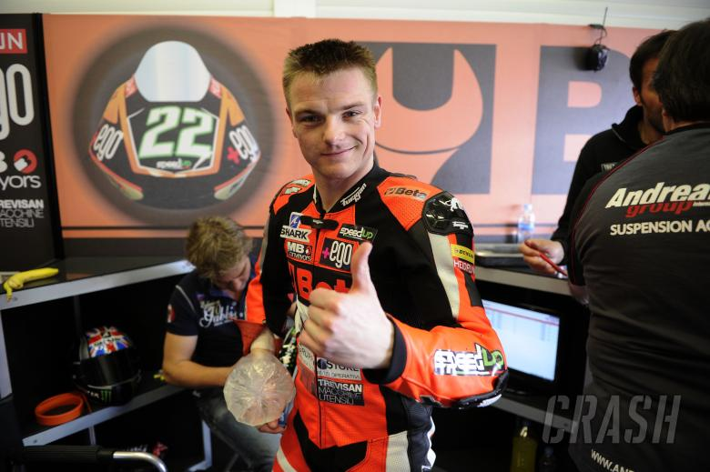 Sam Lowes, Jerez Moto2 Test Feb 2014
