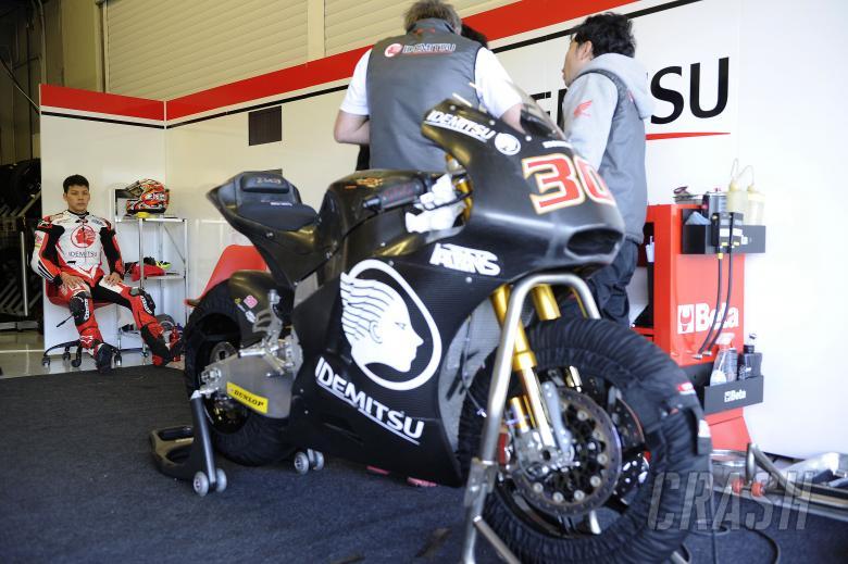 Nakagami, Jerez Moto2 Test Feb 2014