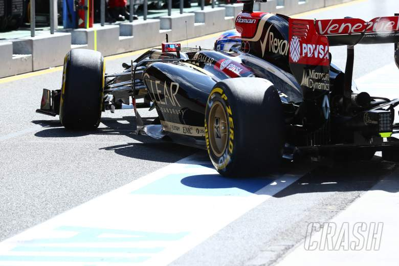 15.03.2014- Free Practice 3, Romain Grosjean (FRA) Lotus F1 Team E22