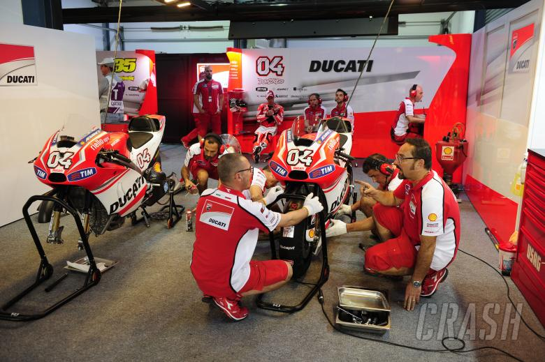 Ducati Garage, Qatar MotoGP 2014